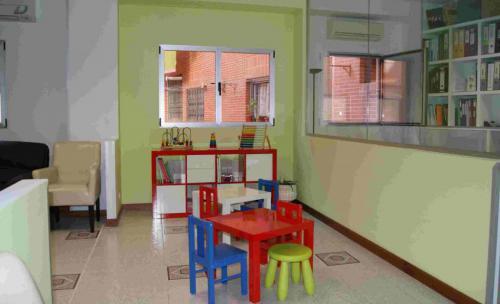 Sala de Espera Niños Clínica Corcuera