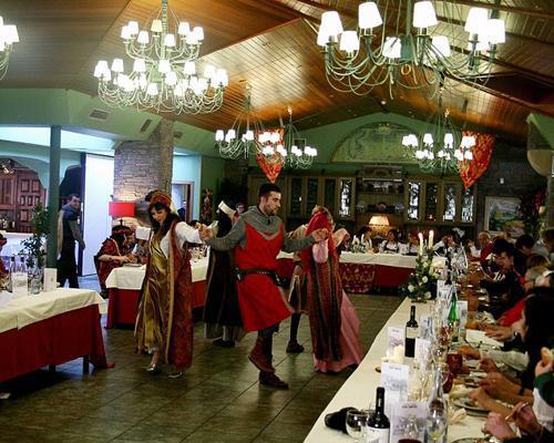 Espectáculos durante el banquete