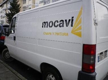 Talleres Mocavi, taller de chapa y pintura en Pontevedra