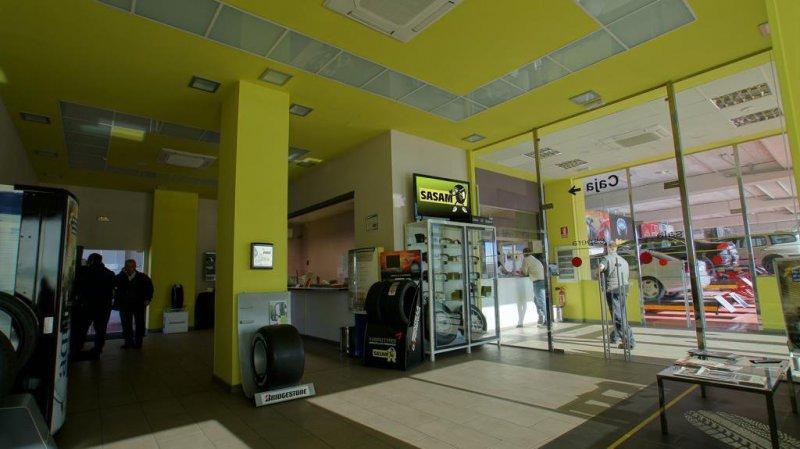 Sala de espera y recepción