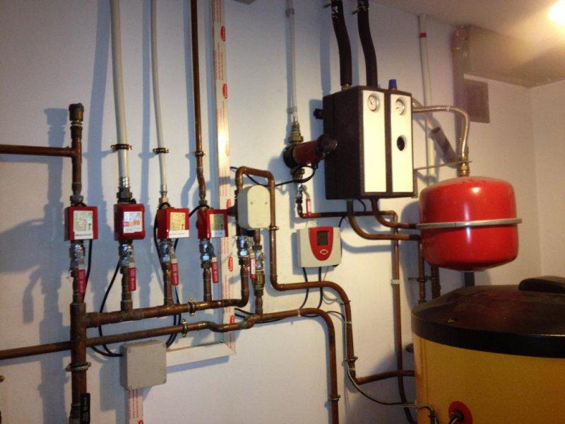 Distribución bitubo en calefacción en Llinars del Valles