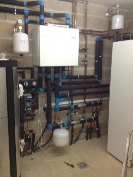 Instalación de energía geotermia