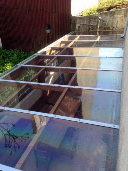 limpieza techos de cristal