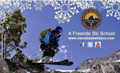 Actividades de la Escuela de Esquí de Jaca