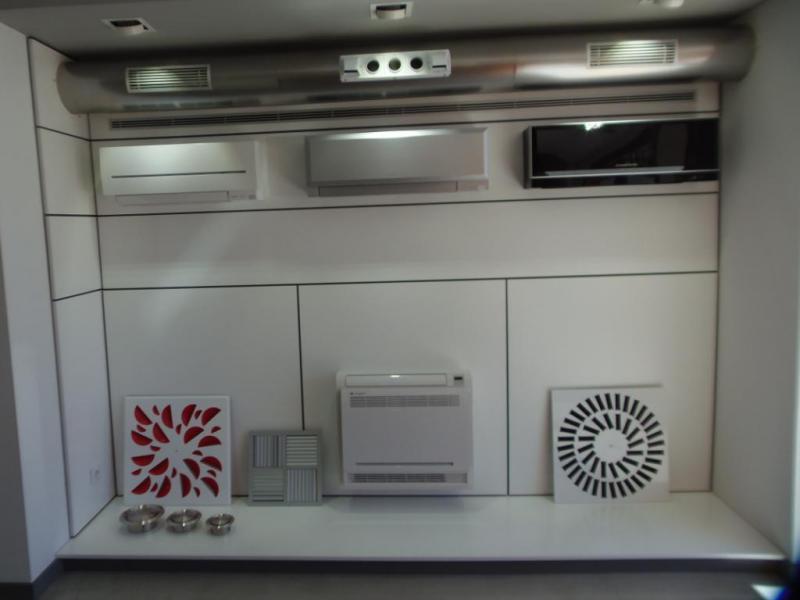 Exposición instalaciones climatización domésticas