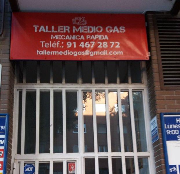 taller medio gas