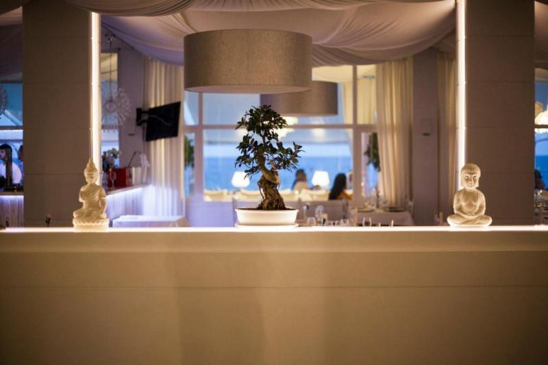 Restaurant para la organización de eventos y bodas a orillas del mar Mediterráneo