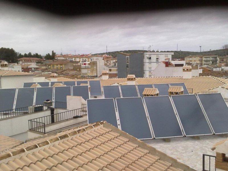 Placas solares 47 viviendas en martos