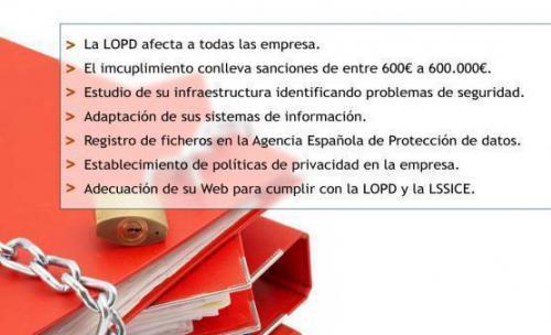 ¿Cumple su empresa con la LOPD? Infórmese de manera gratuita.