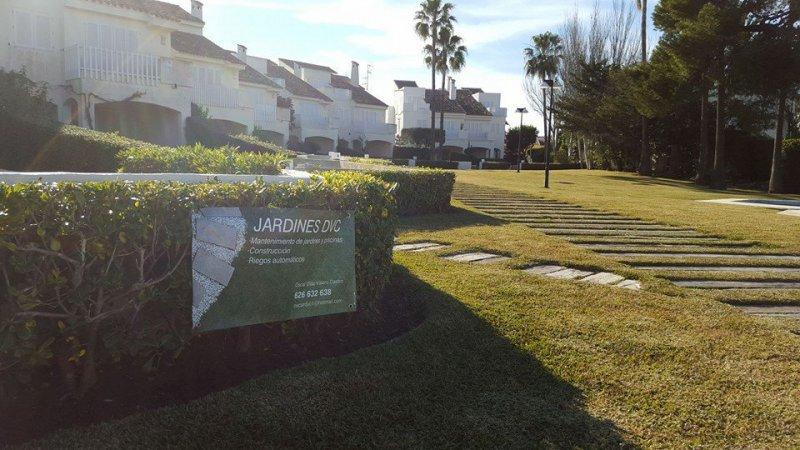mantenimiento de jardines javea