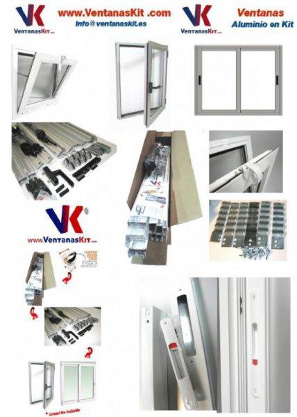 Ventanas de Aluminio en Kit