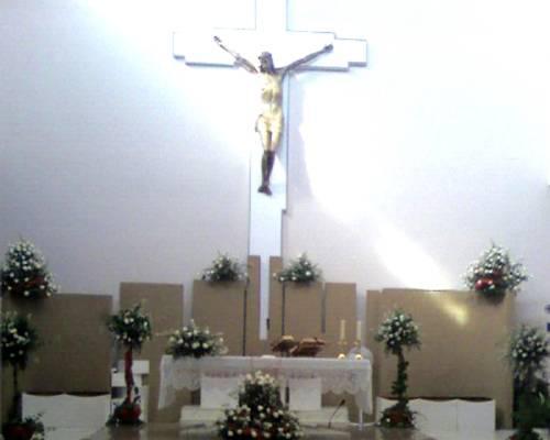Altare in bianco