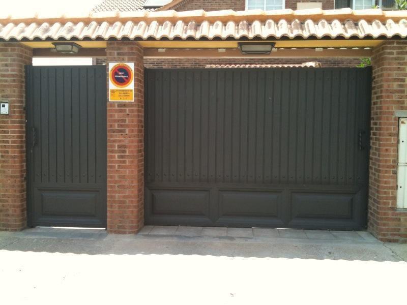 puertas parcela