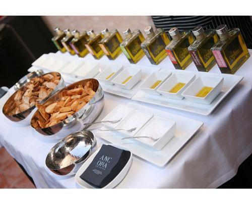 Degustación de aceites de sabores
