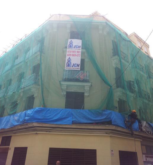 Rehabilitaciones J.G.H., rehabilitación de fachadas y edificios en Madrid