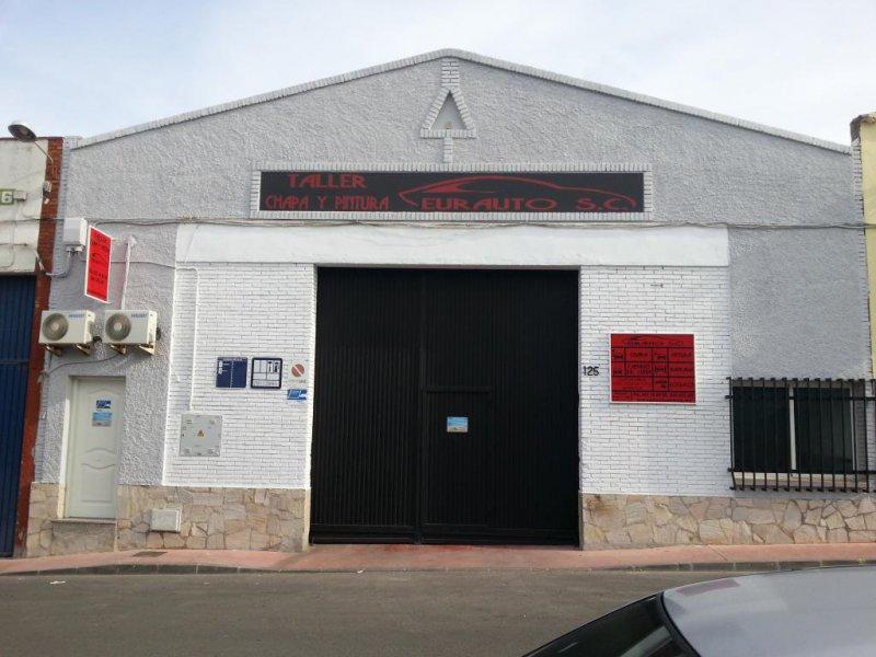 Eurauto, taller de chapa y pintura en Málaga