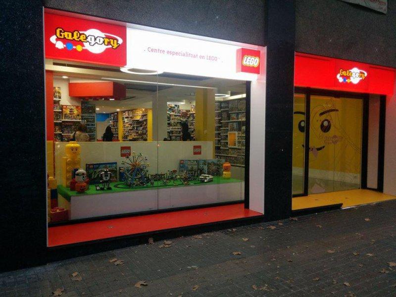 Comercio productos Lego en Barcelona, Galegory