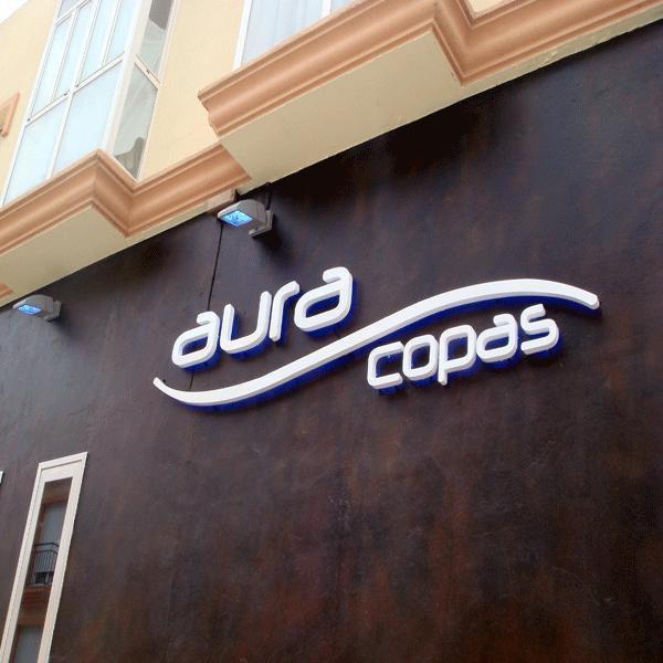 Pubext, rotulación para exteriores en Málaga: corpóreos