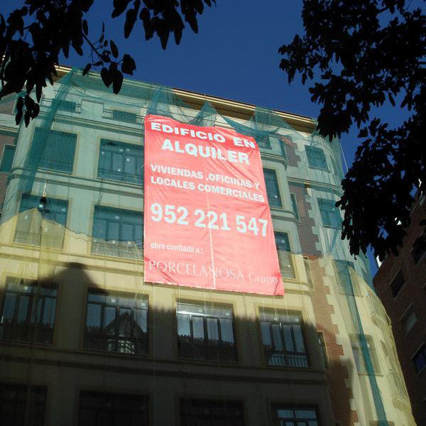 Pubext, rotulación para exteriores en Málaga: lonas
