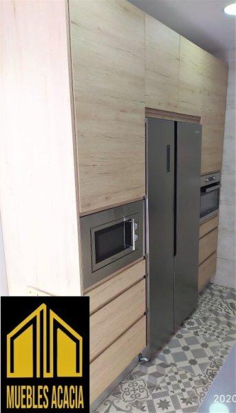 Columna horno, columna micro  frigorífico americano