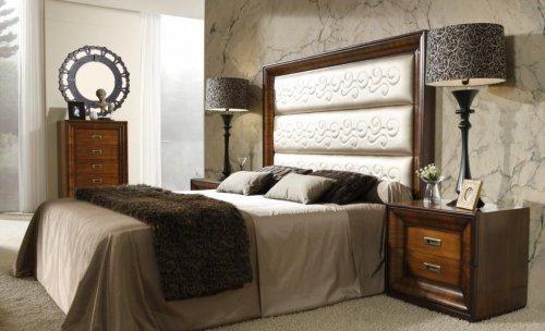 dormitorio clasico MUEBLES ANTOÑAN -www.mueblesantoñan.es-