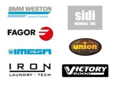 Marcas de maquinaria de lavandería y tintorería