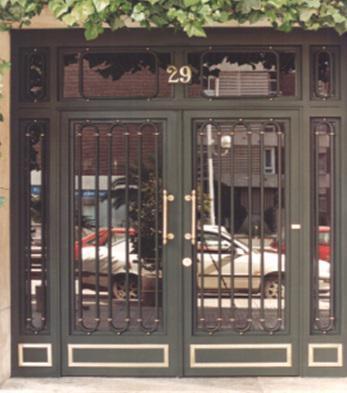 Carpintería Metálica Anfer, puertas de forja de hierro y aluminio