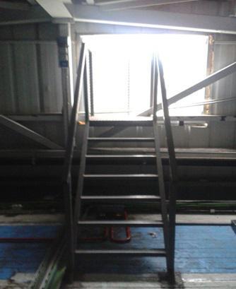 Carpintería Metálica Anfer, instalación de escaleras de hierro