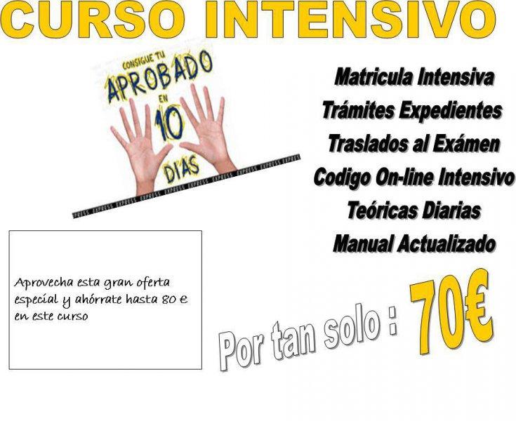 CURSO INTENSIVO EN SOLO 10 DIAS!!!