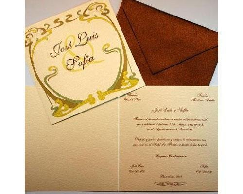 Invitaciones de boda con diseños únicos y exclusivos a precios asequibles
