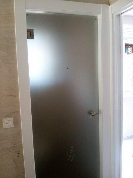 puerta templada
