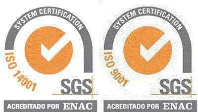 Certificados en ISO 9001 y 14001