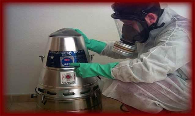 Desinsectación por nebulización