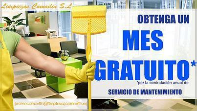 Ofertas de Limpiezas Comodín, limpiezas en Madrid