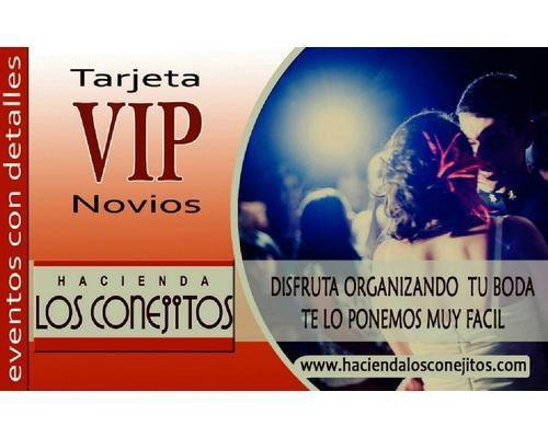La tarjeta vip novios (gratuita) obtendreis descuentos en más de 50 empresas que os ayudaran a organizar vuestra boda