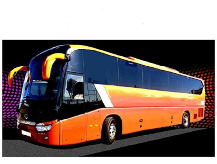 Reparacion de autobús en carretera