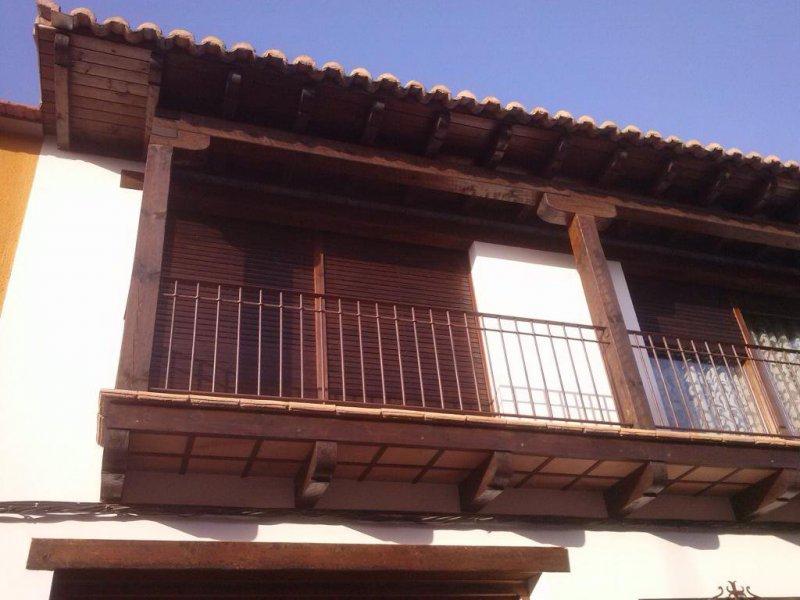 Balcon  madera