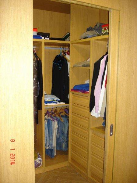 Cerramiento vestidor