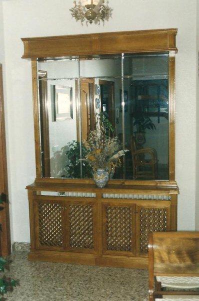 Cubreradiador con espejo