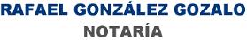 Notario Rafael Gonzalez