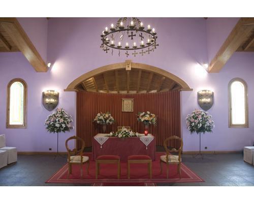 Espacio para la ceremonia civil