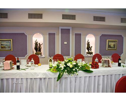 Decoración para la mesa presidencial de tu boda en asturias
