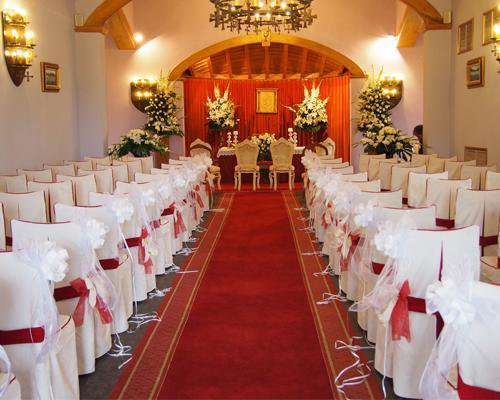 El espacio perfecto para una ceremonia de ensueño