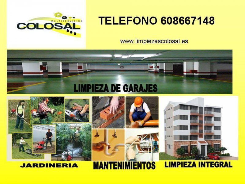 www.limpiezascolosal.es
