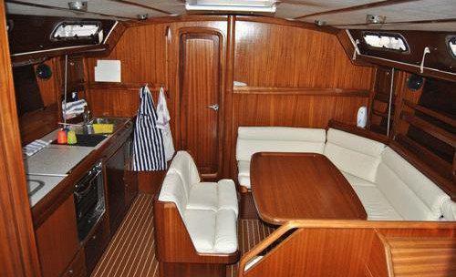 Inside Yacht Aida Yolanda