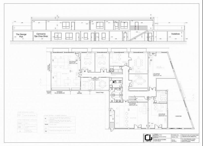 Licencia de apertura de gran centro de oficinas por herna proyectos