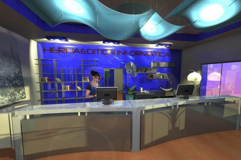 Diseño tienda telefonía por Herna Proyectos