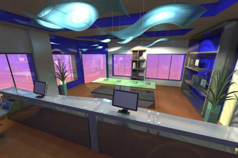 Diseño tienda de telefonía por herna proyectos