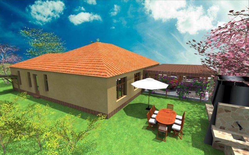 Diseño vivienda unifamiliar por Herna Proyectos