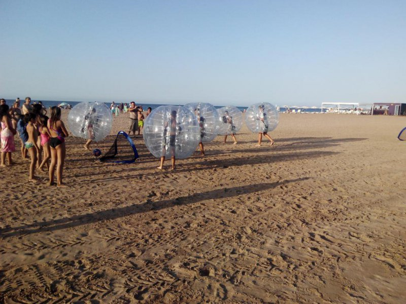 Cumpleaños niños 9 años en playa